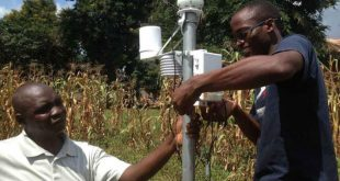Weather Station Installation_Uganda