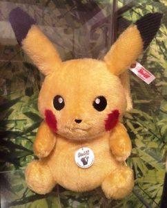 Pokemon - Steiff Pikachu - Japan