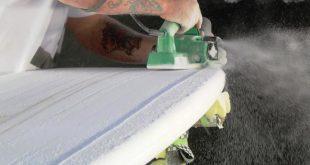 prancha surf produção