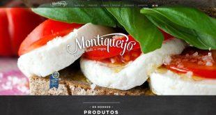 Homepage site Montiqueijo