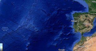 portugal mar satelite