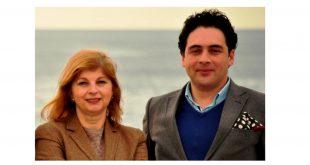 Hugo Diogo (Compta) e Ana Ribeiro (Aquatropolis)